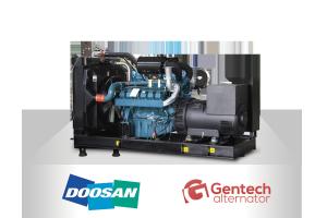 Doosan- Gentech (220-825kVA, 50 Hz)