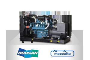 Doosan- Meccalte (220-825kVA, 50 Hz)