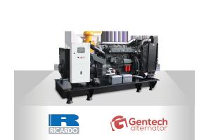 RICARDO T - GENTECH (15-325kVA, 50 Hz)