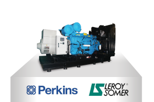 PERKINS - LEROY SOMER  GENERATOR SETS